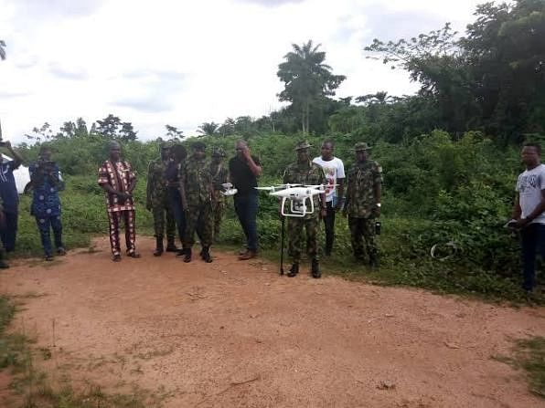 Military Deploys Drones In The Fight Against Kidnapping In Ondo