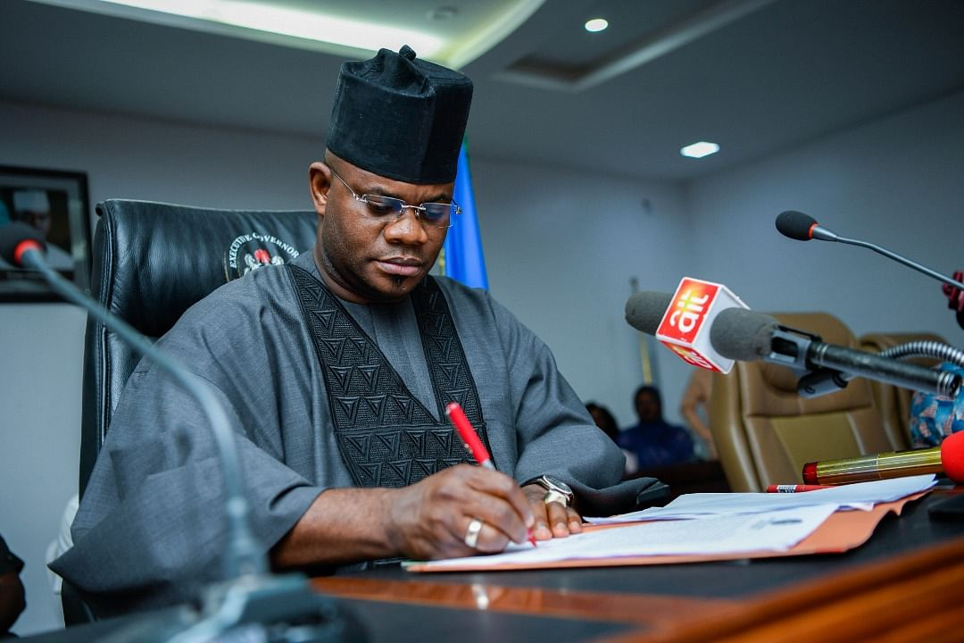 Gov. Bello Confident Of Re-Election In November Polls