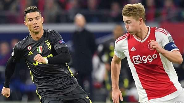 Cristiano 'Juventus Scout' Tries to Woo De Ligt