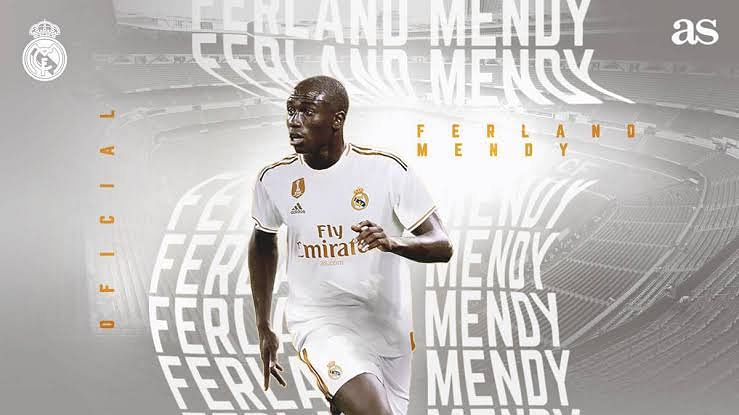 Ferland Mendy Joins The 'White Army'