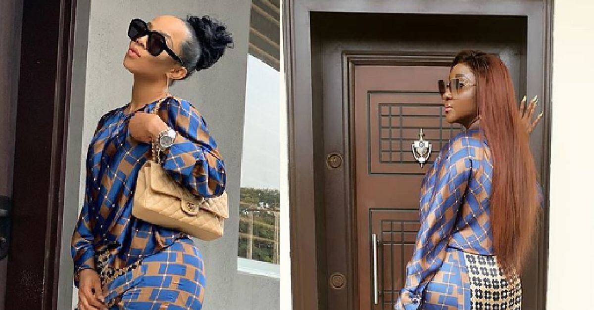 Fans Troll Toke Makinwa Over Matching Outfit Comment
