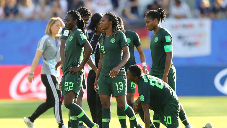 Germany 3-0 Nigeria: Falcons Crash Out Of FIFA Women's World Cup