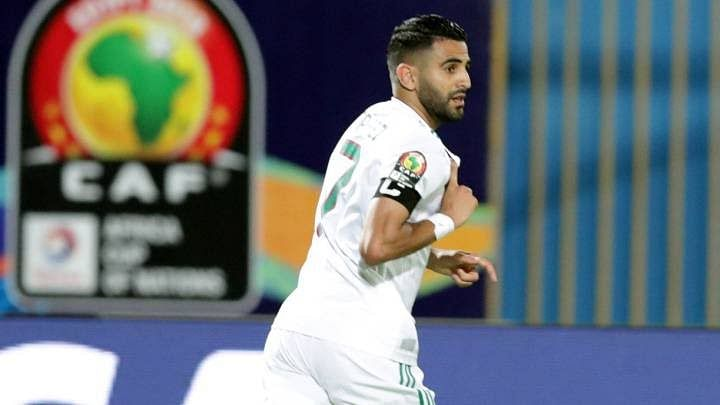 Riyad Mahrez's Late Strike Crushes Nigerian Hearts
