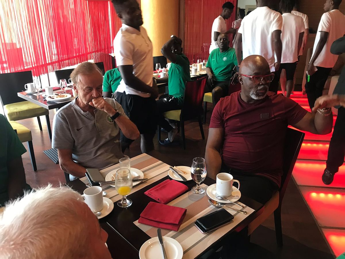 """Gernot Rohr Will Not Be Sacked As Super Eagles Coach"" - Amaju Pinnick"