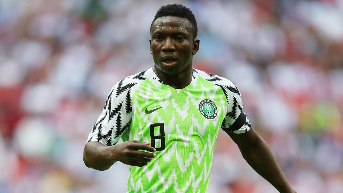 Super Eagles Midfielder, Etebo, Launches Football Camp In Lagos