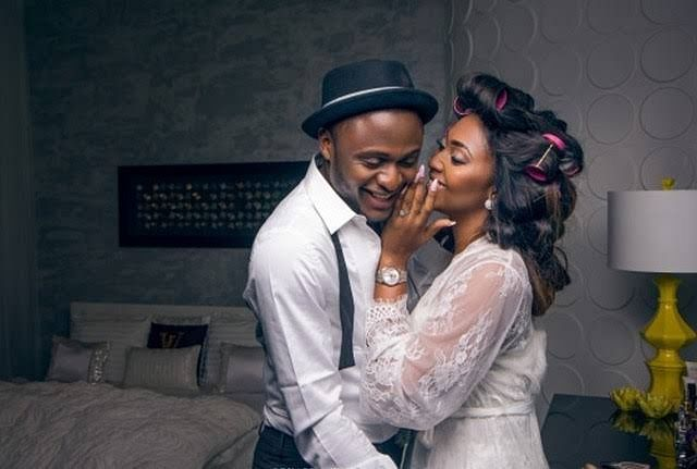 Ubi Franklin and Lilian Esoro