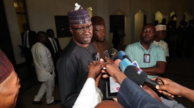 Boss Mustapha Reappointed As Secretary To The Government Of The Federation