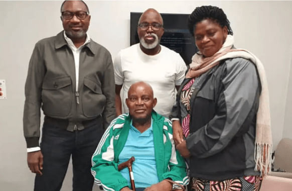 Otedola Meets Christian Chukwu, Says He Is Happy Spending His Money On Him