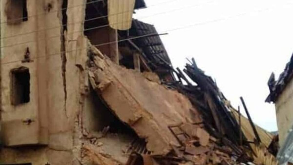 Building Collapse In Jos: Seven People Rescued, Some Feared Dead