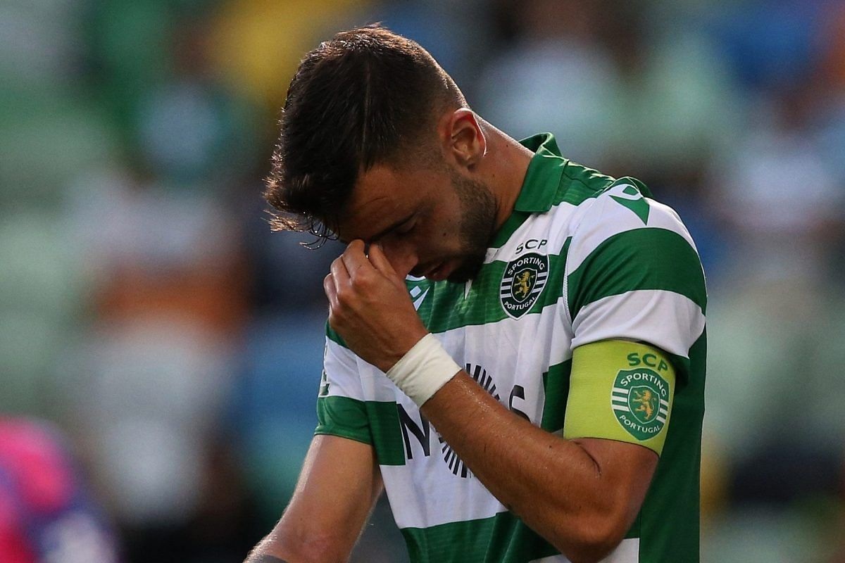Bruno Fernandes In Tears After Sporting Defeat As Departure Nears