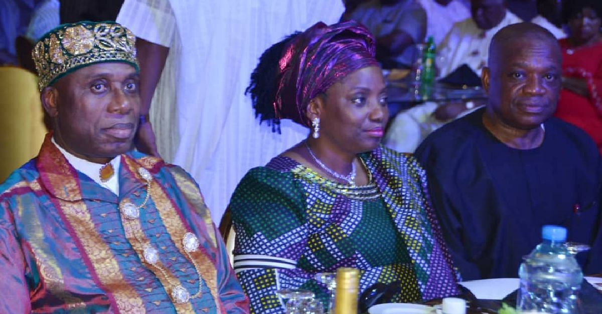 Grand Reception Held In Honour Of Rotimi Amaechi And Wife (Photos)