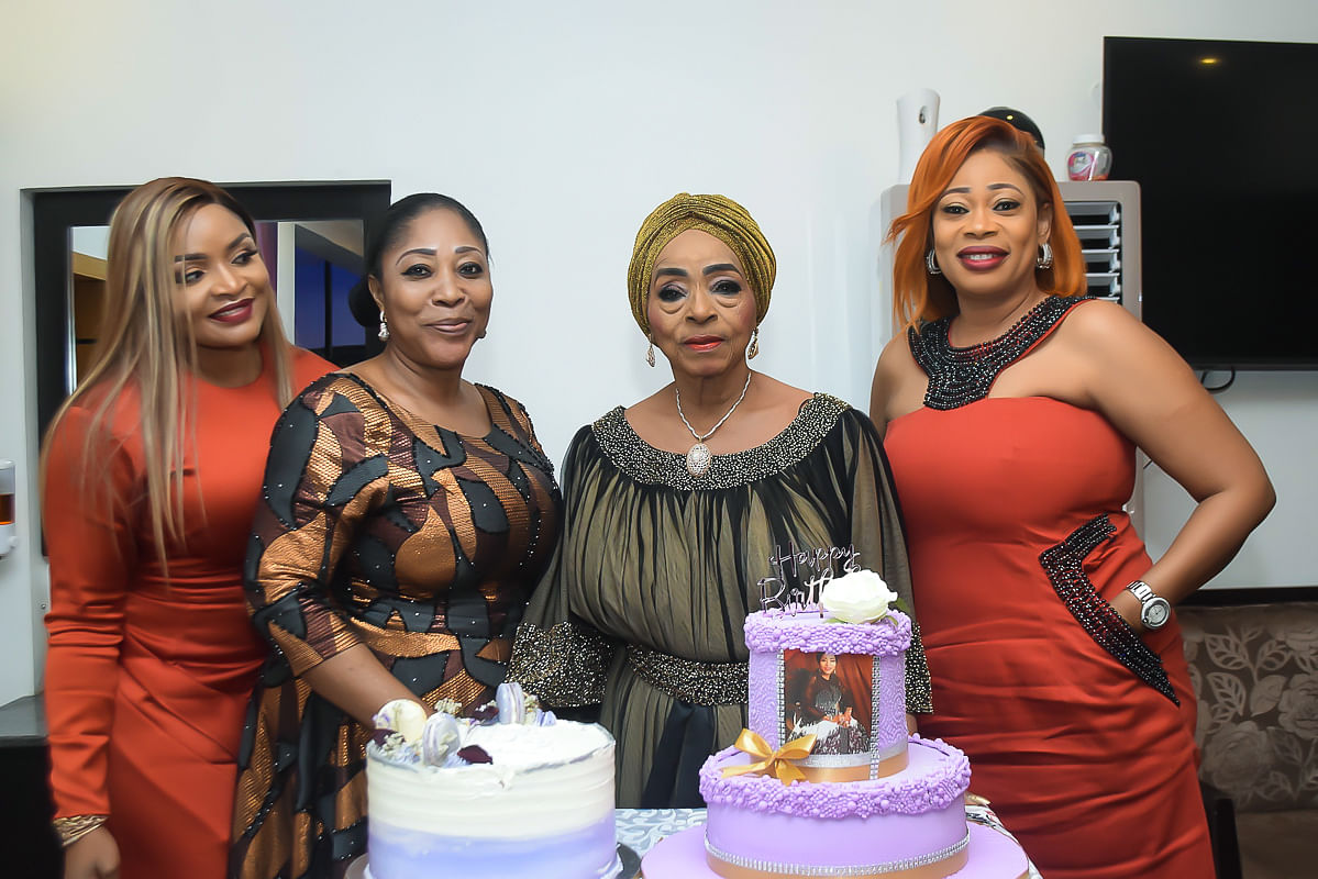 Princess Abah Folawiyo with friends
