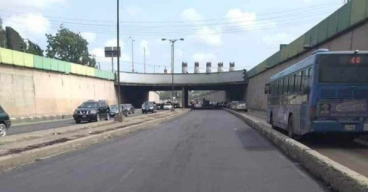 Lagos State Public Works Corporation Completes Rehabilitation Work On Maryland Road