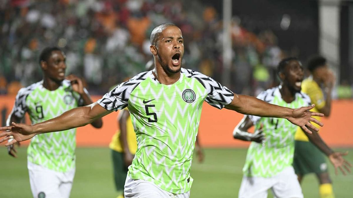 Super Eagles Scale Through Bafana Bafana Hurdle Into Semi-Finals