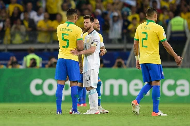 Brazil 2-0 Argentina: Messi And La Albiceleste Crash Out Of Copa America