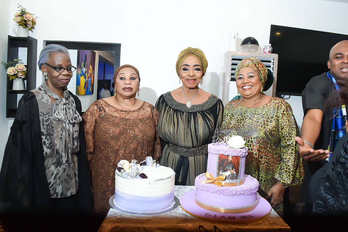 Princess Abah Folawiyo, Dr. (Mrs.) Doyin Abiola & friends