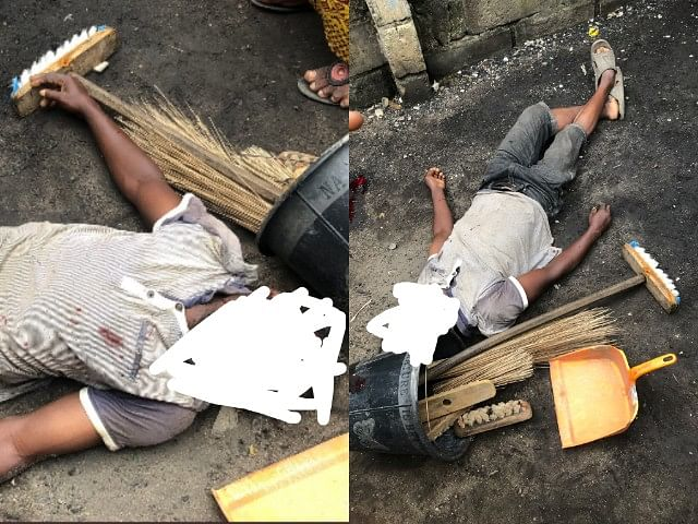 SARS Operatives Allegedly Kill Innocent Cleaner During A Raid in Ilupeju, Lagos