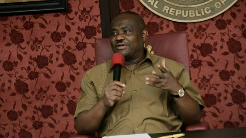 Rivers State Governor Launches 'Operation Sting'