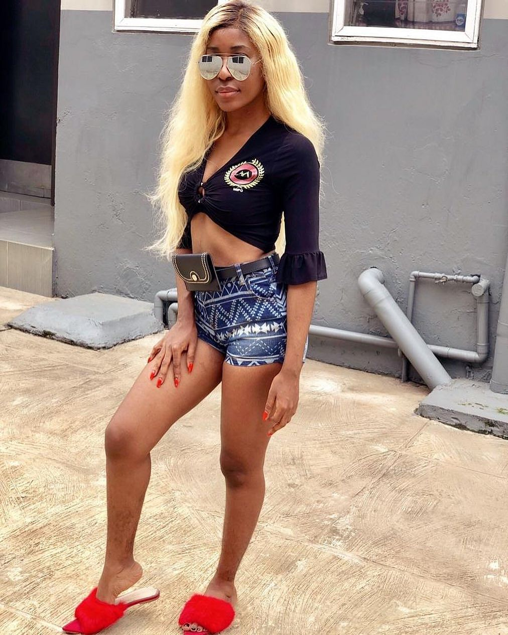 Rumour Has It: Actress Nkechi Blessing Is Not The Mother Of The Baby Boy She Flaunts