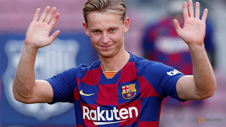 6. Frenkie de Jong (22 years, Midfielder, Ajax to Barcelona, €75m)
