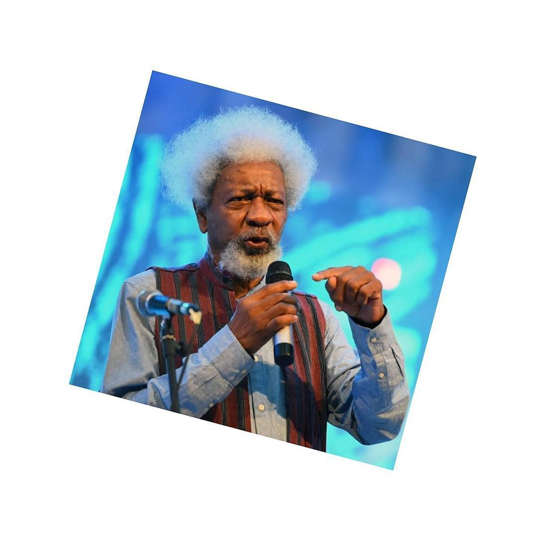 Stop Writing Rubbish On The Internet - Prof. Soyinka Advises Nigerian Youths