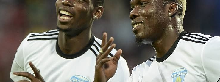 Paul Pogba and brother, Mathias Pogba