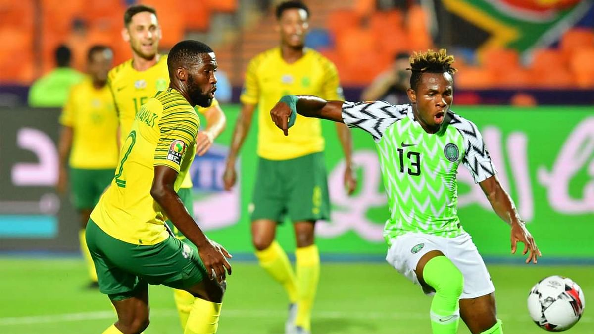 Nigeria 2-1 South Africa: Super Eagles Scale Through Bafana Bafana Hurdle Into Semi-Finals (Highlights)