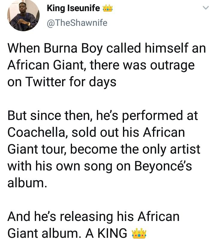 Nigerians React to Beyonce's New Album Featuring BurnaBoy,  Wizkid, Tiwa Savage & Others