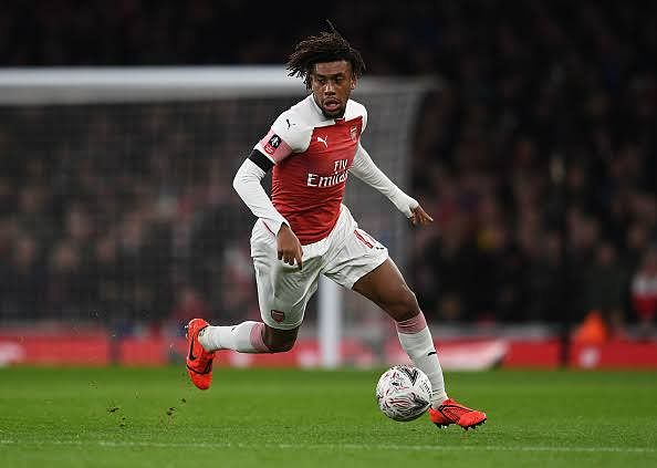 Alex Iwobi Says He Could Leave Arsenal If Wilfried Zaha Is Brought In To Take His Place