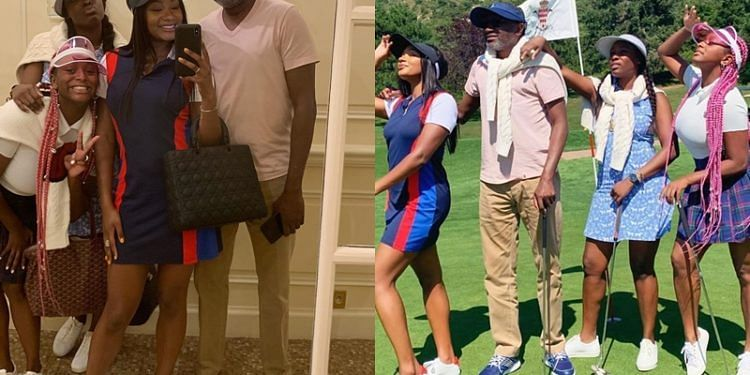 Otedola And Daughters Vacation In Monaco