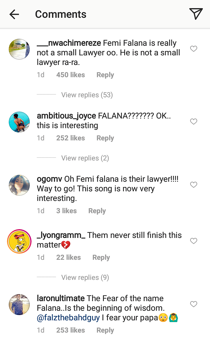 See How Nigerians Reacted When Femi Falana Emerged As Busola Dakolo's Lawyer