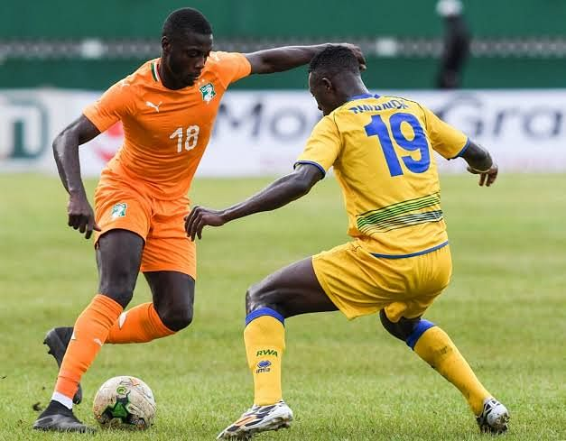 Pepe in action for Ivory coast