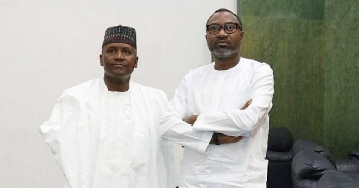 Dangote, Otedola Support Super Eagles With Dollars