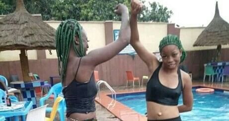 Two Girls Stripped For Impersonating Black Axe Confraternity