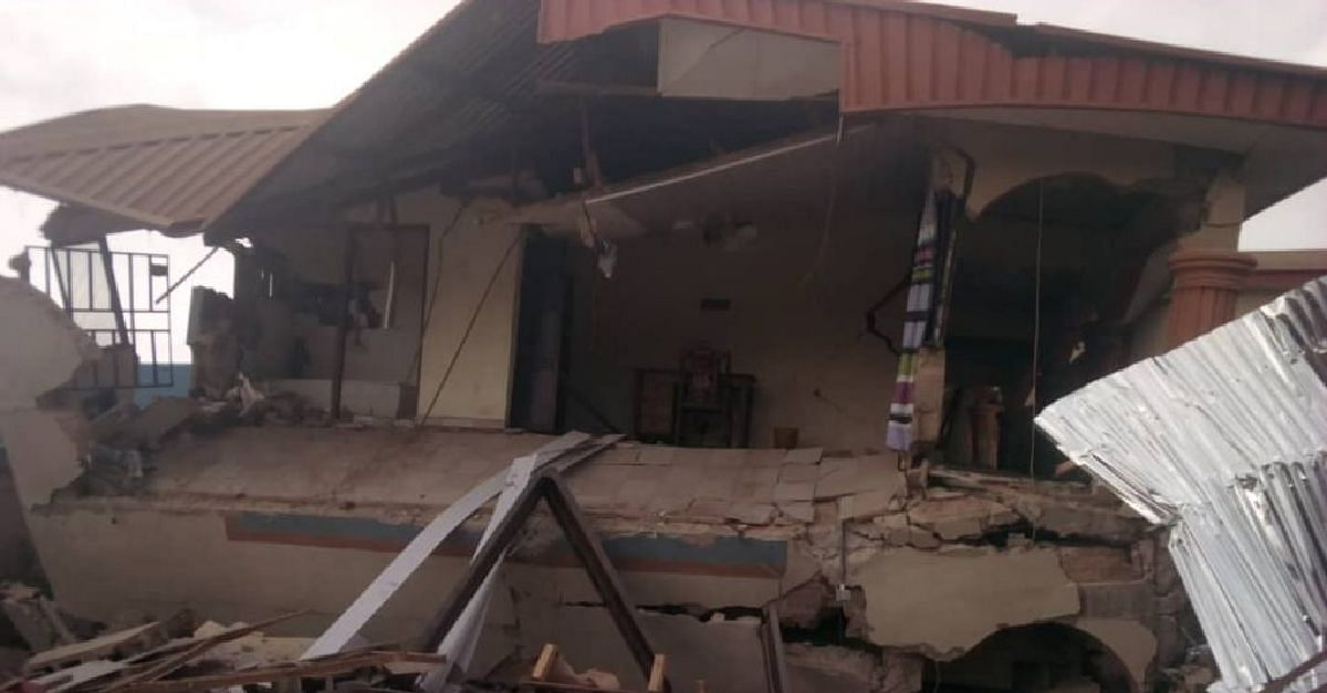 60 Guests Escape Death In Collapsed Hotel In Abakaliki