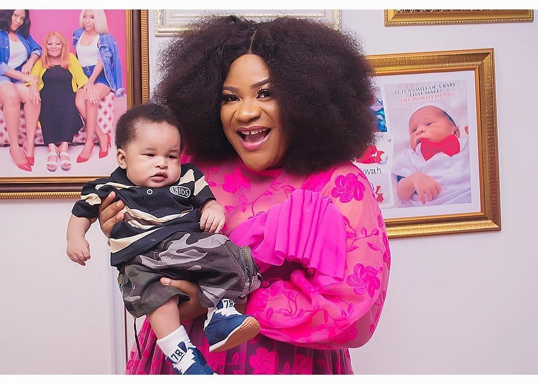 Nkechi Blessing Is Not The Mother Of The Baby Boy She Flaunts