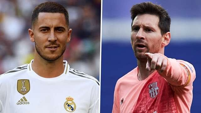 Hazard Is Close To Messi's Level - Samuel Eto'o