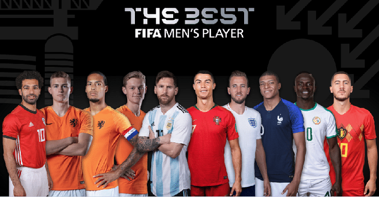 Ronaldo, Messi And Van Dijk Headline FIFA Awards Nominees