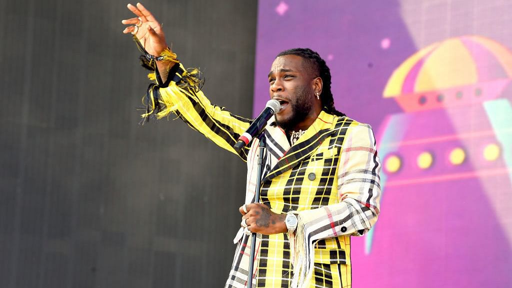 Burna Boy performing at Coachella