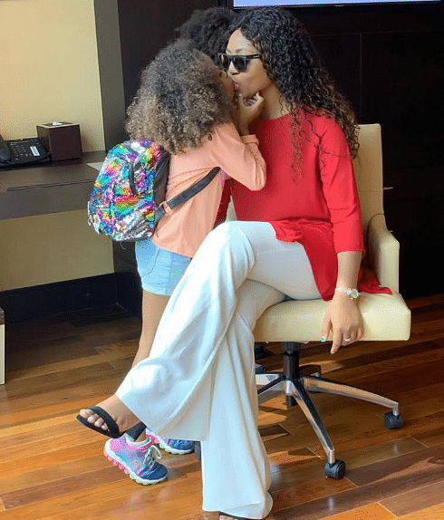 Regina Daniels Shares Loved Up Photos With Hubby Ned Nwoko