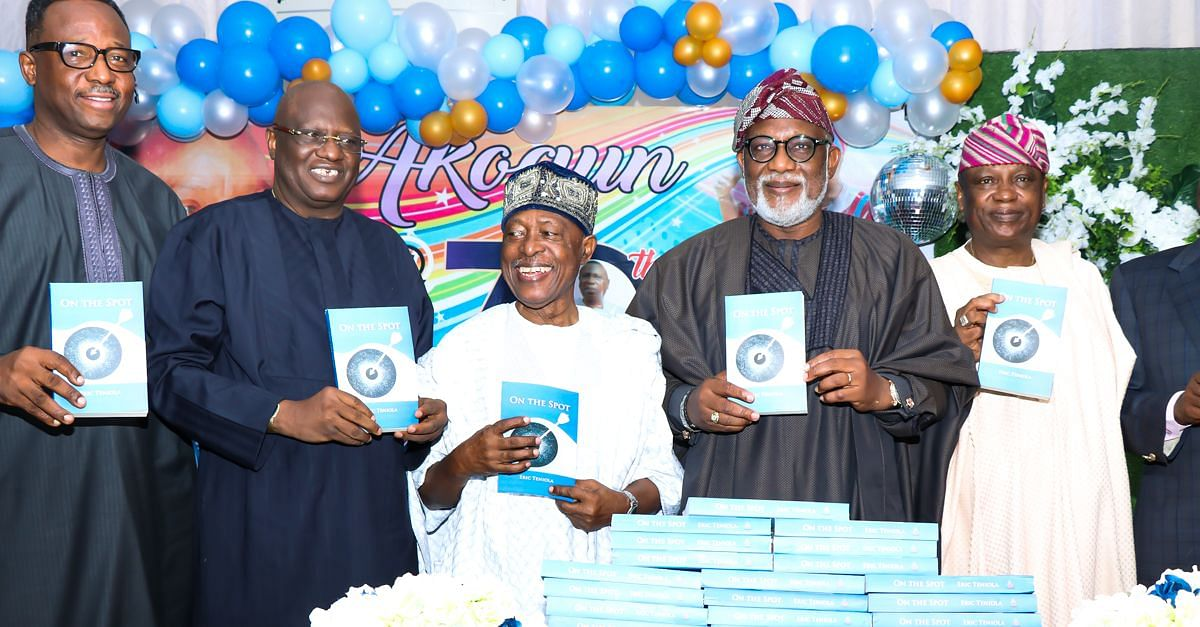 Veteran Journalist, Chief Teniola,  Celebrates 70th Birthday With Family And Friends (Photos)
