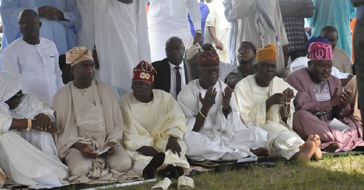 See How Oba Rilwan Akiolu, Obafemi Hamzat, Others Observed The Eid-El-Kabir Celebration (Photos)