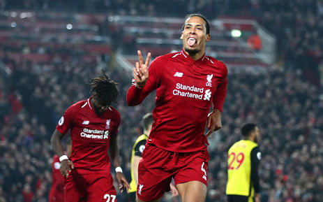 Virgil Van Dijk Wins UEFA Men's Player Of The Year Award