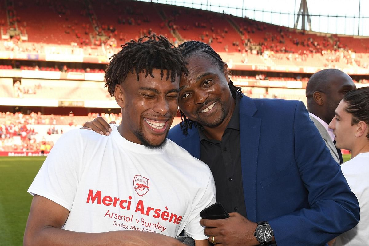 Arsenal Legend, Nwankwo Kanu, Wishes Everton's New Signing Luck