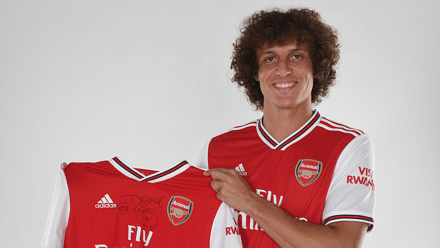 Arsenal Complete Deadline Day Capture Of David Luiz From Chelsea