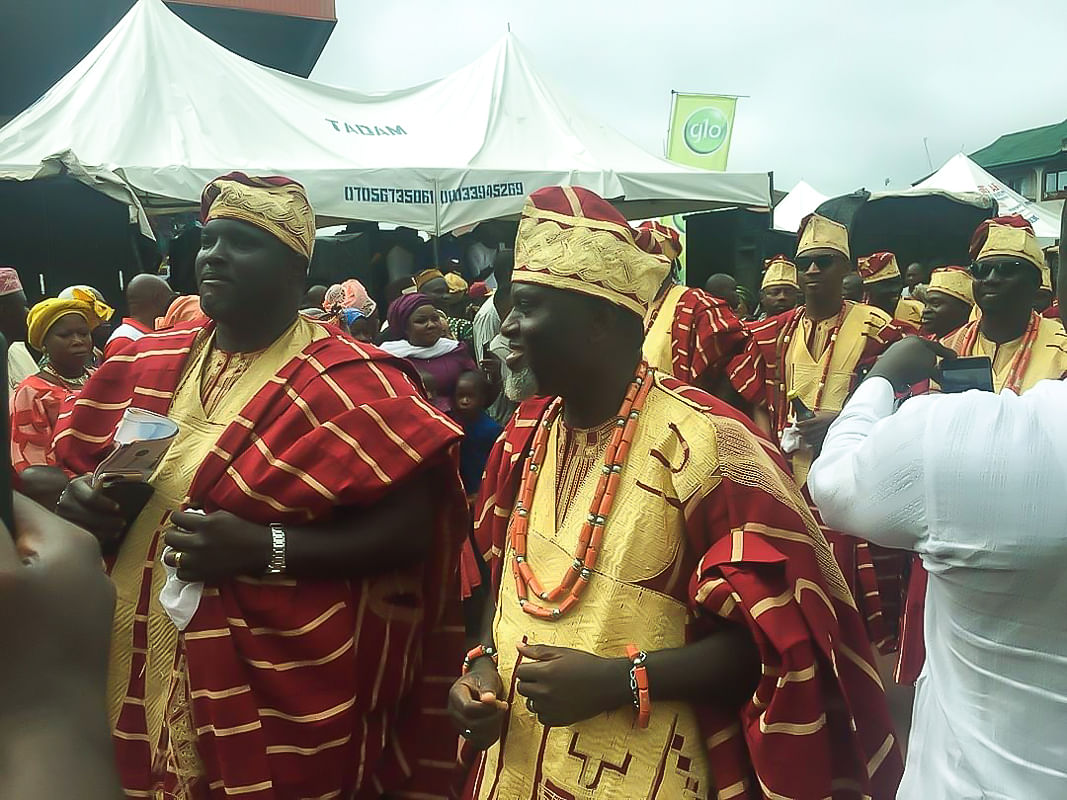 Amosun Absent At  Ojude Oba Festival, Abiodun, Osoba, Others Attend