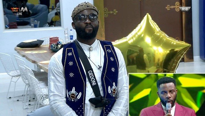 BBNaija: Gedoni Evicted From Big Brother Naija House