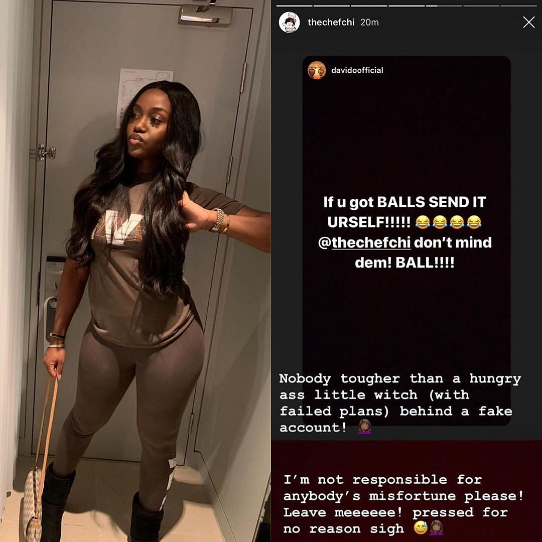Davido Accuses First Baby Mama, Sophia Momodu, Of Being A Witch