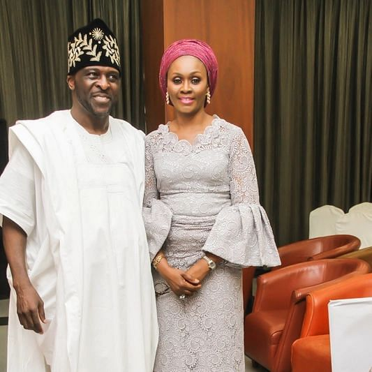 Pastor Dotun with Mrs Bamidele Abiodun (  The First Lady of Ogun State)