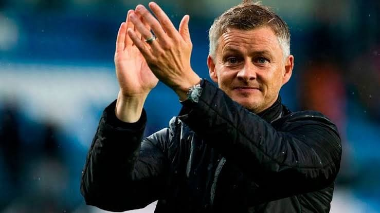 Ole Gunnar Solskjaer, former player and now coach of Manchester united